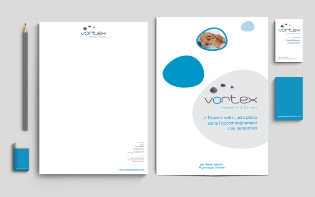 Identité graphique – Vortex formation