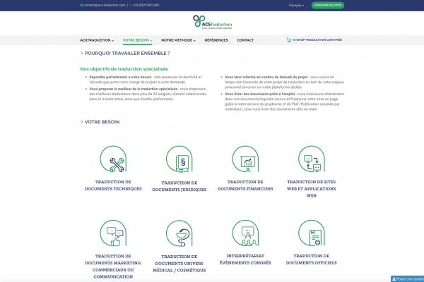 écran web ACS traduction2