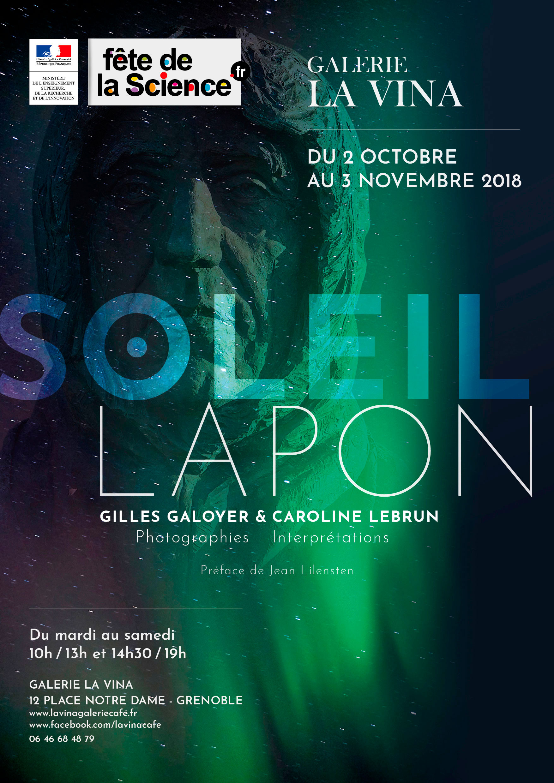 Affiche Exposition SOLEIL LAPON
