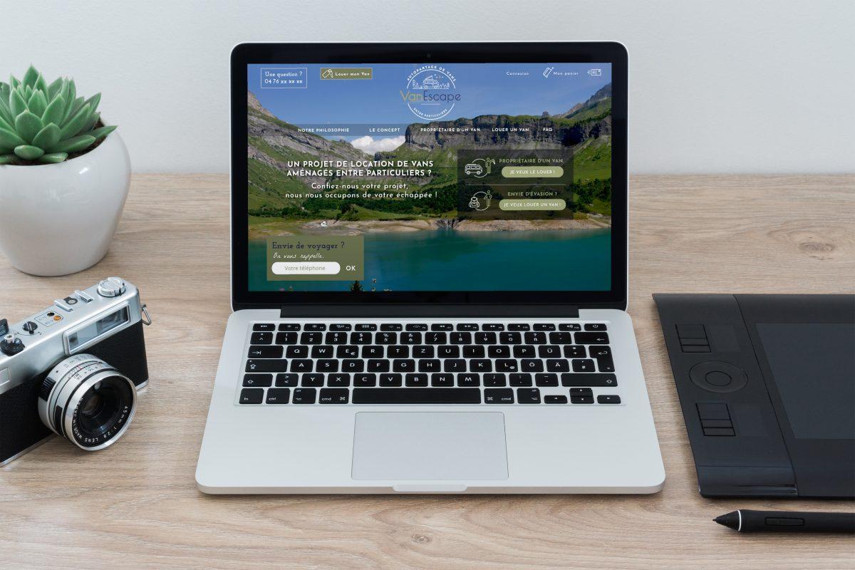 Webdesign Vanescape