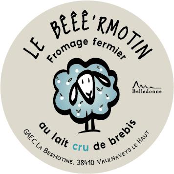 étiquette fromage le Bêêêr'motin