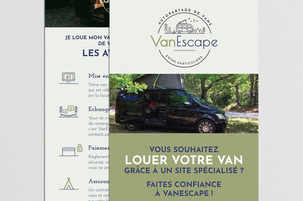 flyer DL Vanescape vue 2