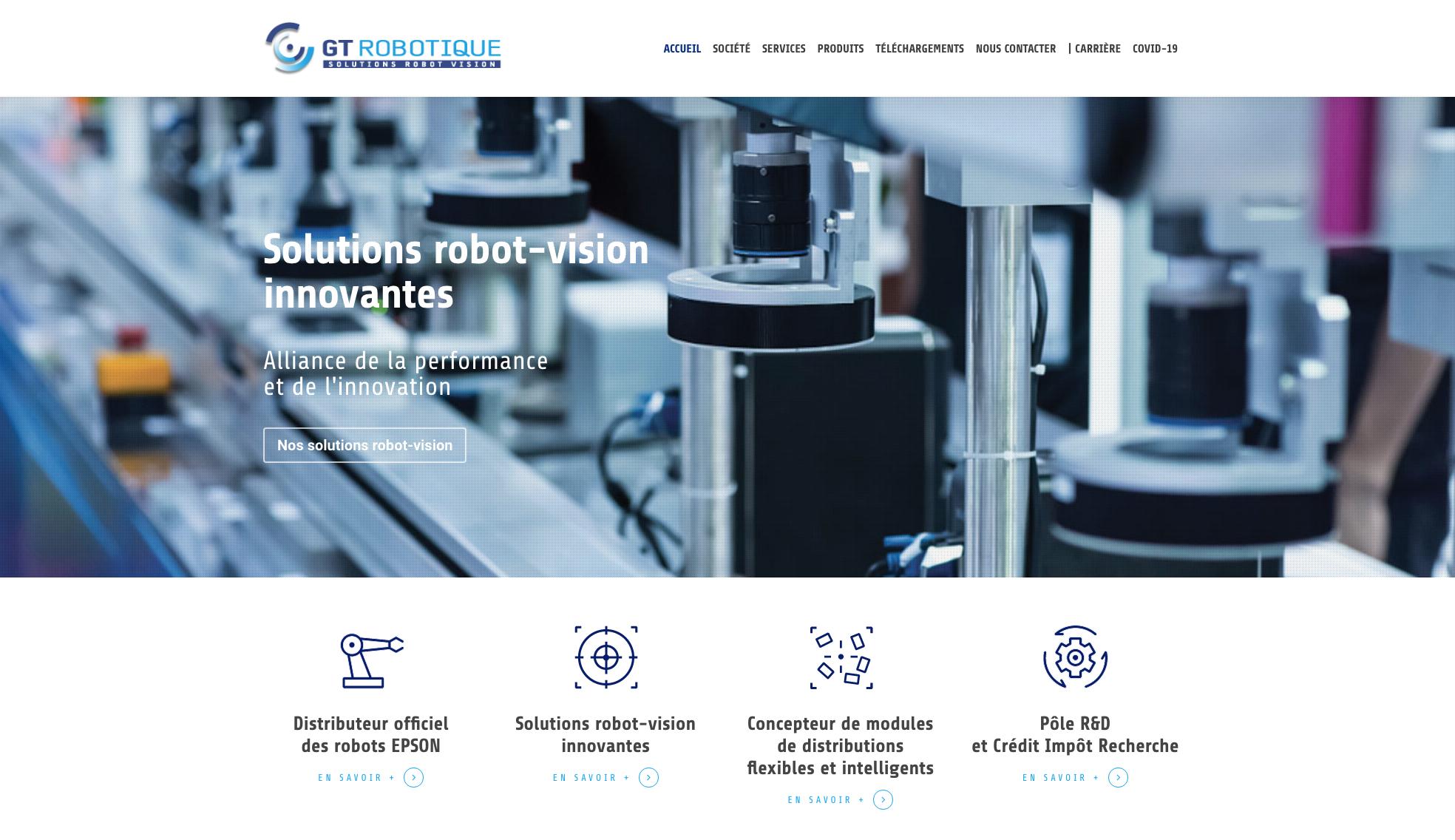 Homepage GTRobotique
