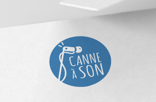 Logo – Canne à son
