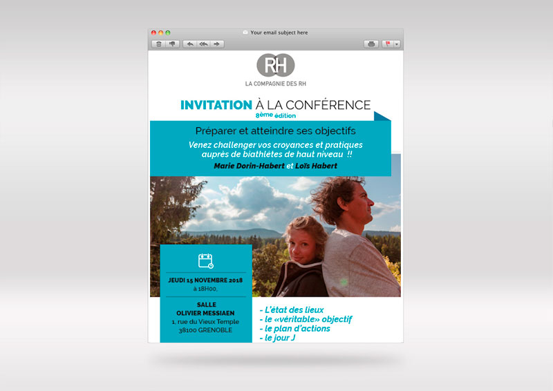 Design d'emailing – La compagnie des RH
